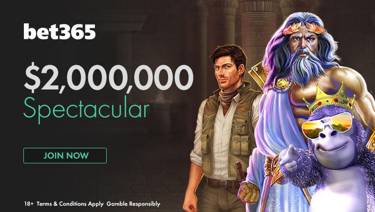 bet365-ი წარმოგიდგენთ 2 მილიონი დოლარის ოდენობის მიმზიდველ წახალისებას
