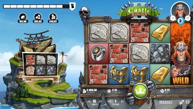 მშენებლობის დროა: Microgaming-ის Castle Builder II Slot-ი უკვე ხელმისაწვდომია