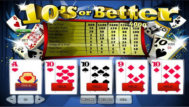 ონლაინ Video poker