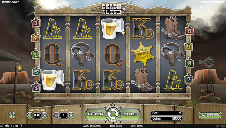 უამრავი სლოტები 777 Casino-ში